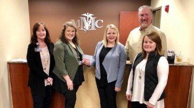 American Heart Association presented with check from MMC