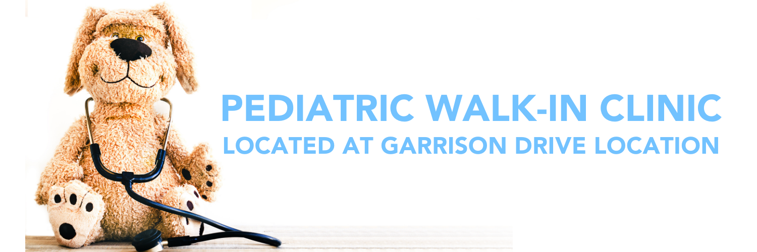 Pediatric Walk-In Clinic header