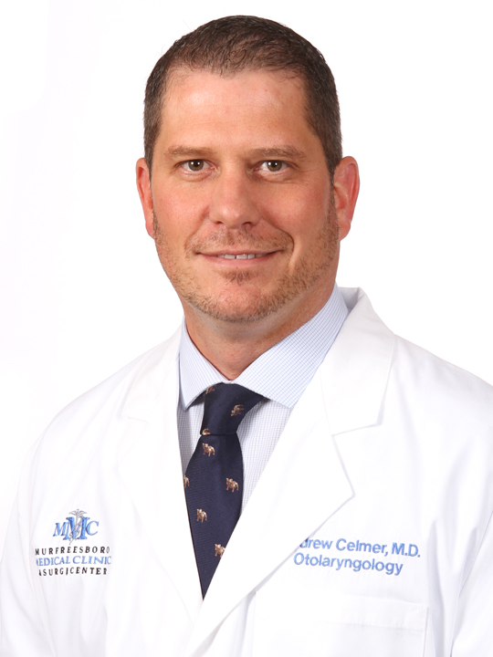 Dr. Andrew Celmer at the Voice Center